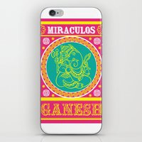 ganesh iPhone & iPod Skins featuring Ganesh by Chetna Shetty