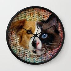 CatDog Wall Clock