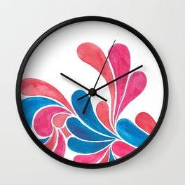 Juicy Doodle.  Wall Clock