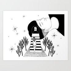Into Your Dream Art Print