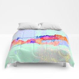 Bristol Cityscape Digital Comforters