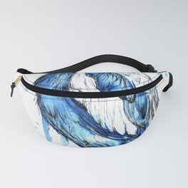Quick sketch of a Magpie Fanny Pack