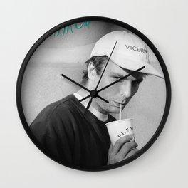 Mac Demarco Poster Wall Clock