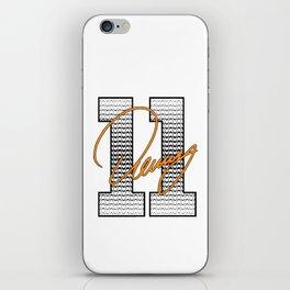 Denny Hamlin iPhone Skin