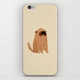 Brown Doggy iPhone Skin