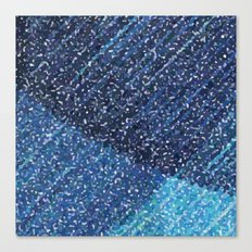Zima Blue Alpha Canvas Print