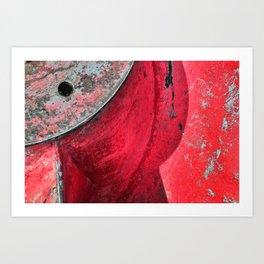 Propellor Art Print