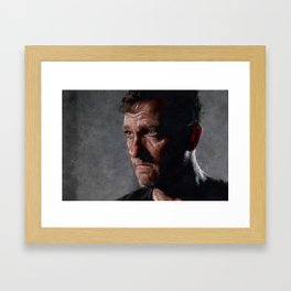 Richard From The Kingdom - The Walking Dead Framed Art Print