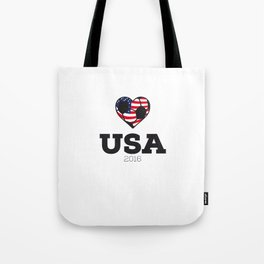 USA Soccer Shirt 2016 Tote Bag