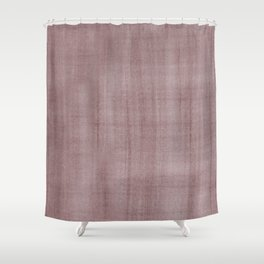 Pantone Red Pear Dry Brush Strokes Texture Pattern Shower Curtain