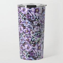 FLOWERS WATERCOLOR 24 Travel Mug