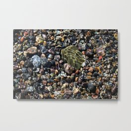 pool of pebbles  Metal Print