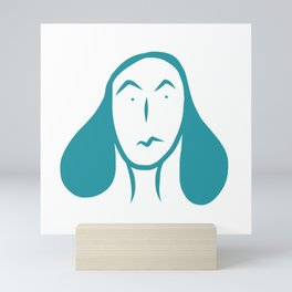smirk. Mini Art Print