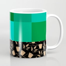 Pixels And Potted Plants Coffee Mug