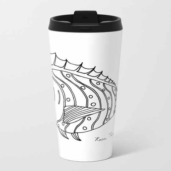 Catch of the Day Metal Travel Mug
