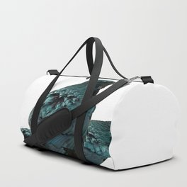THREE CROWS/RAVENS  SOCIALIZING FROM SOCIETY6 Duffle Bag