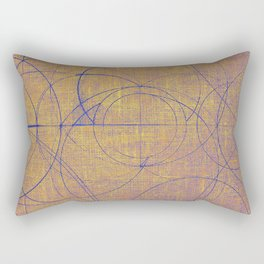 Aurea (Yellow Version) Rectangular Pillow