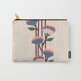 Henri Flowers Carry-All Pouch