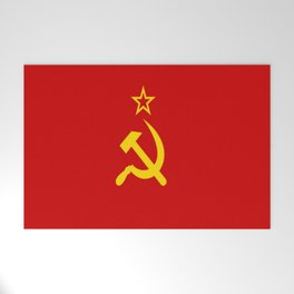 Flag of USSR Welcome Mat