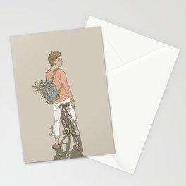 """ The Flower Boy "" Stationery Cards"