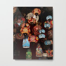 Turkish lanterns Metal Print