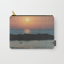 Sunset Ocean Bliss #1 #nature #art #society6 Carry-All Pouch