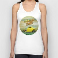 grafitti Tank Tops featuring American Grafitti by Tony Vazquez