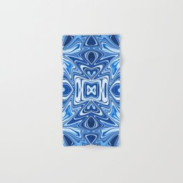 65 - Psychedelic Blues Hand & Bath Towel