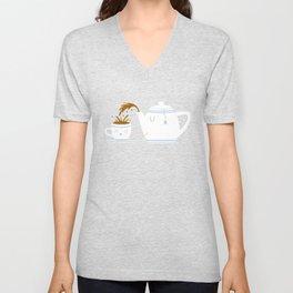 Tea Time! Unisex V-Neck