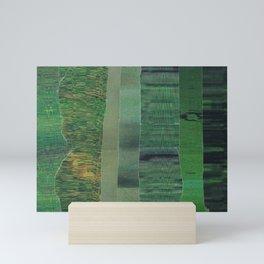 green scan 2 Mini Art Print