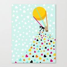 Keep spreading the love Canvas Print
