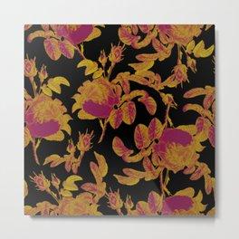 Flower design modern home decor Metal Print