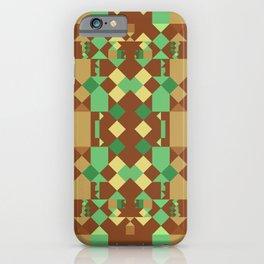 Warm Colors Geometric iPhone Case
