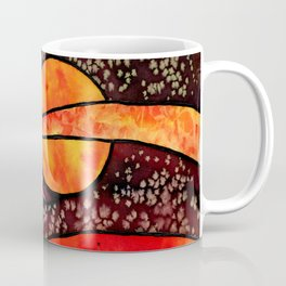 Red Night Coffee Mug