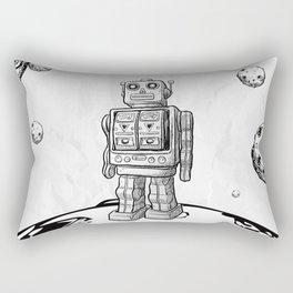 Mr. Robot On The Planet Rectangular Pillow
