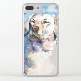 Charlie's Dreams Clear iPhone Case