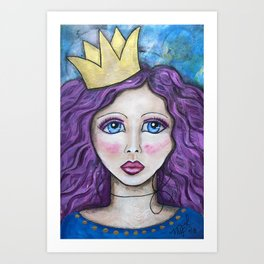 If The Crown Fits Art Print