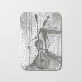 "CELLO. A SERIES OF WORKS ""MUSIC OF THE RAIN"" Bath Mat"