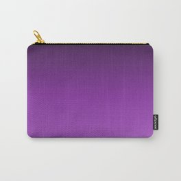Dark Purple Ombre Carry-All Pouch