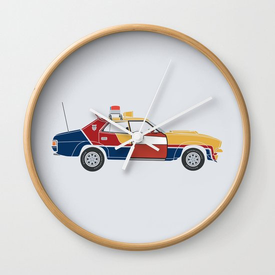 Mad Max RockaStarsky Wall Clock