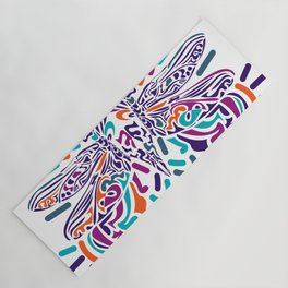 Colorful Fly Yoga Mat