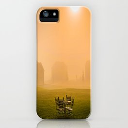 Table for Four iPhone Case