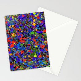 Abstract #738 Stationery Cards