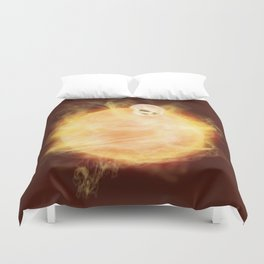 Lost in a Space / Sunlion Duvet Cover