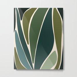 Evolve - Modern Abstract Print Metal Print
