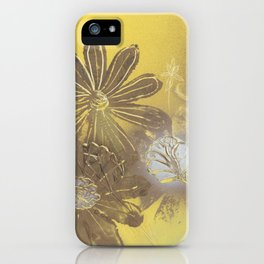 Daisies and Dandelions iPhone Case