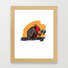 Ratling Framed Art Print
