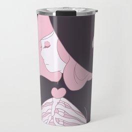 Bone Witch (Pink) Travel Mug