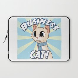 Business Cat! Laptop Sleeve