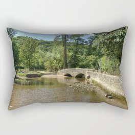 Gallox Bridge of Dunster Rectangular Pillow